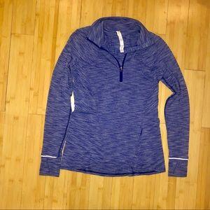 Lululemon 1/2 Zip Thumbholes Pullover size 8